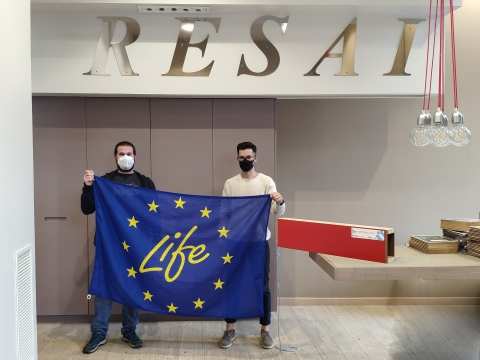 LIFE EcoTimberCell meets RESAI to explain them the project