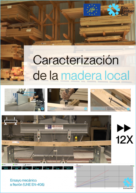 Local wood characterization in LIFE EcoTimberCell project