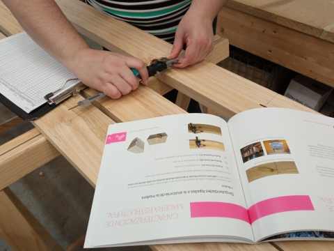LIFE EcoTimberCell publishes the Guide to the supply and characterization of structural wood