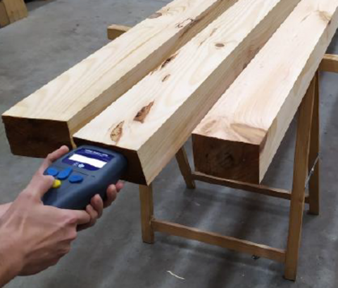 Did you know that it is possible to estimate the mechanical properties of a piece of wood without destructive testing?