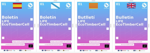 Boletín 1 LIFE EcoTimberCell disponible